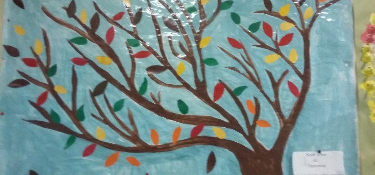 Travaux d'automne en maternelle