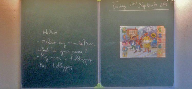 Cours d'anglais : le vendredi c'est Lollypop !